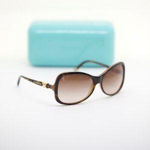 Tiffany & Co. Gold and Leopard Sunglasses